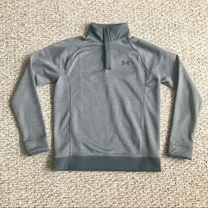 Under Armour Boys Sweater Fleece 1/2 Snap